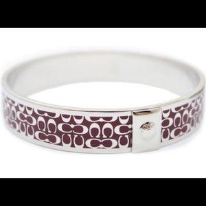 Coach Signature Bracelet